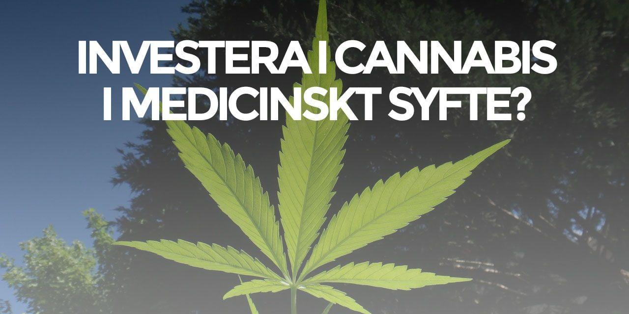 Investera i Cannabis? – 3 intressanta aktier (Uppdaterad)