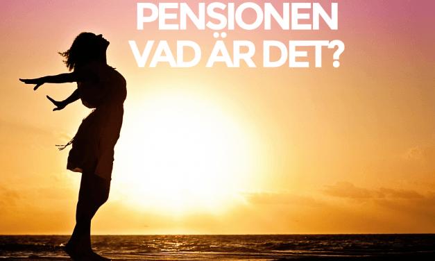 Pensionen – när ska man bry sig om den?