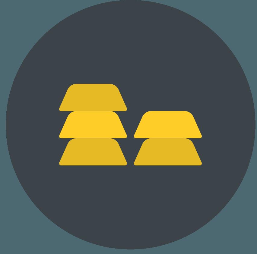 aktier-guld