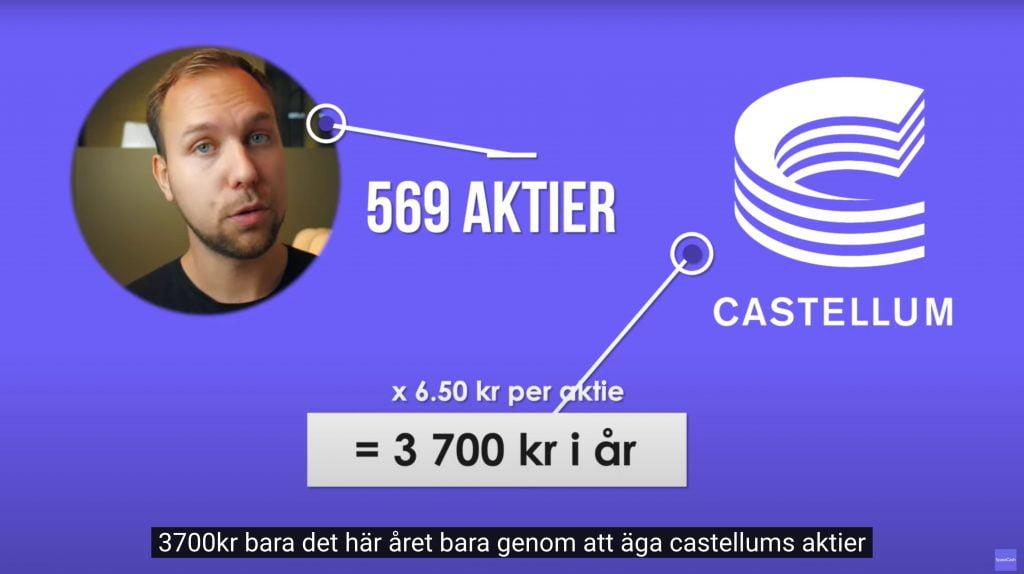 Utdelningsaktier Castellum