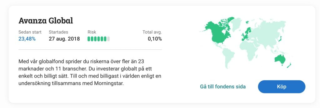 Avanza Global Indexfond