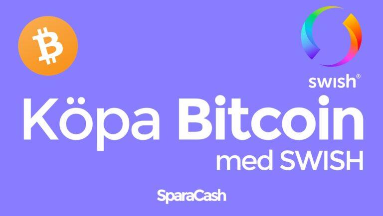 Köpa Bitcoin med Swish