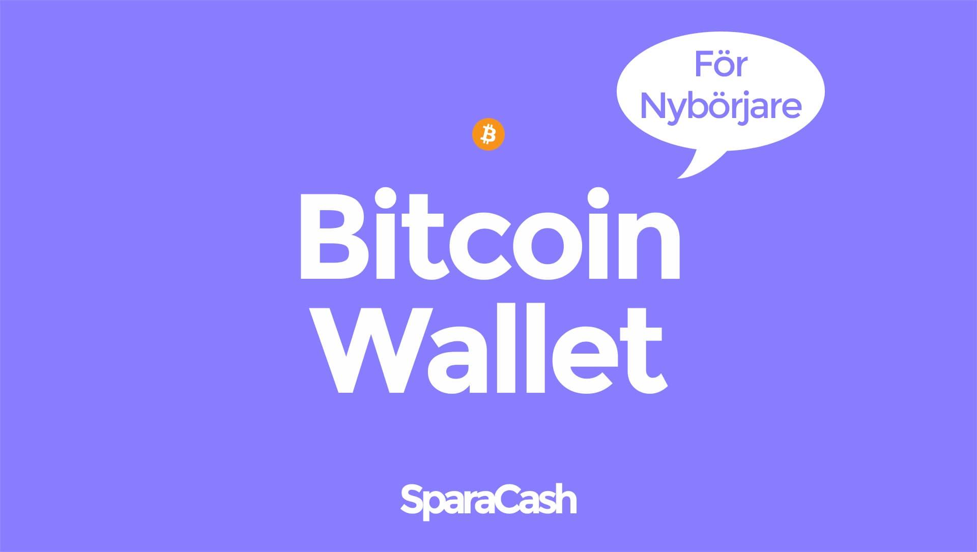 Bitcoin Wallet - Bitcoin plånbok