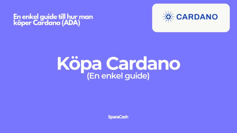 Köpa Cardano ADA